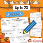 Number Bonds to 20 Practice Worksheets