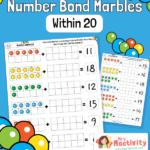 Tens Frames Number Bonds Within 20 Practice Worksheet