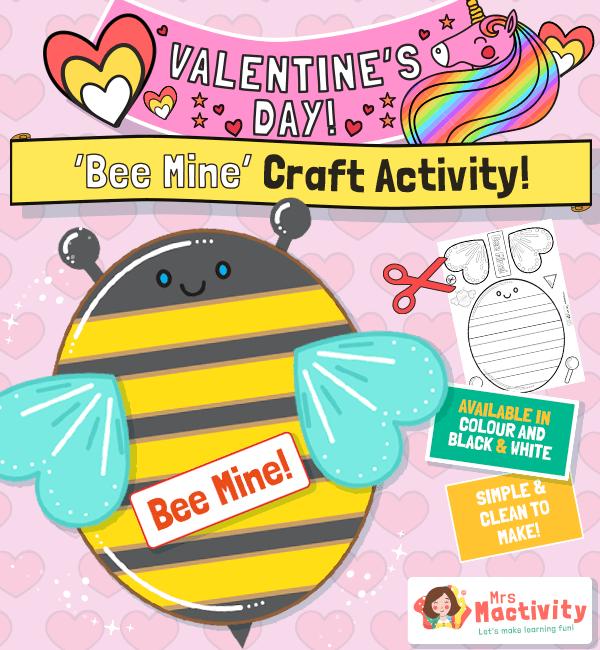 Valentine's Day resources for EYFS KS1 KS2