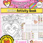 Valentine's Day maths worksheets KS1