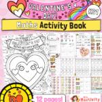 Valentine's Day maths worksheets KS1
