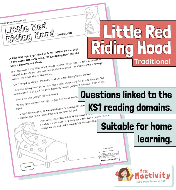Ks1 reading comprehension