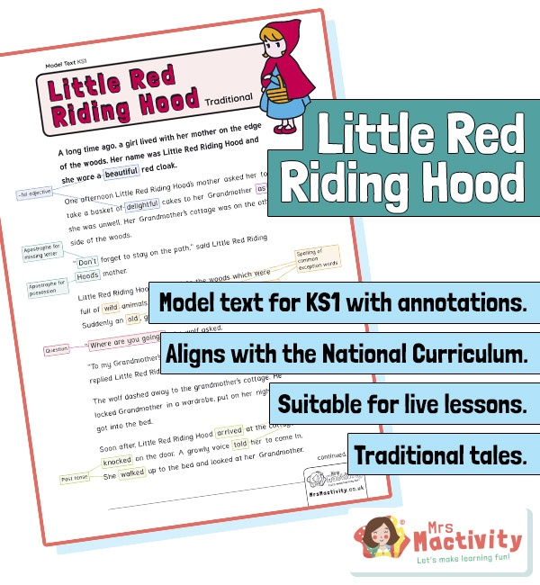 Year 2 Annotated Model Text