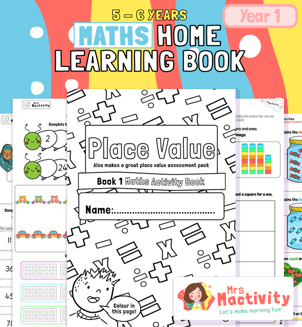 ks1 place value worksheets