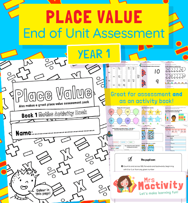 Maths Place Value Year 1 Expected Standard COLOUR V2