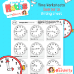 Telling the Time to Quarter To Worksheet