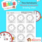 maths time worksheet year 2