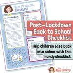 post lockdown return to school resources
