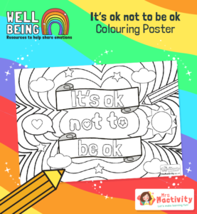 its ok no to be ok colouring sheets