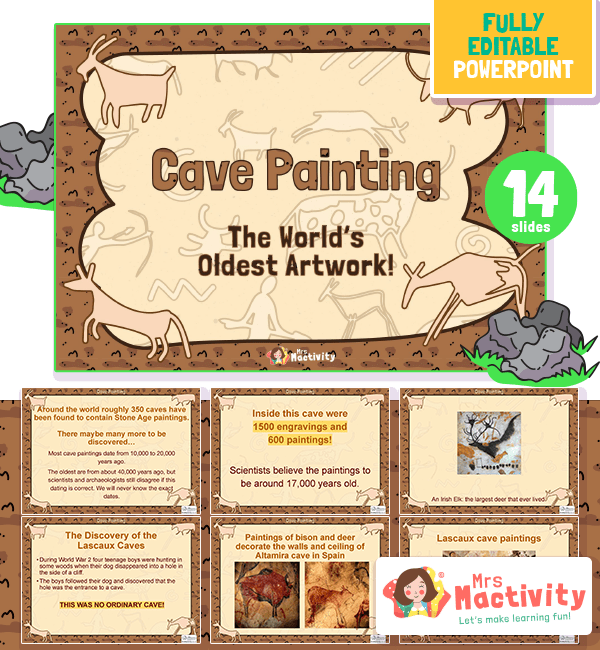 Ks2 cave painting resources