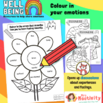 Emotions Colouring Activity