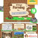 Stone Age farming lesson powerpoint KS2