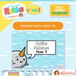 Year 1 related number facts resources white rose maths