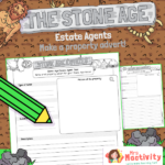 Stone Age Estate Agents Advert Writing Activity
