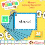 Phase 4 Adjacent Consonants Flashcards phase 4
