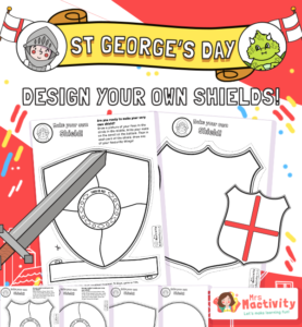 St George's Day Design a Shield