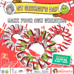 st georges day Wreaths