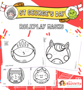 St George's Day Role-play Masks