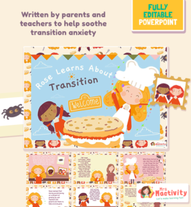 Transition story ebook powerpoint