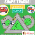 Shape Tracks 2D COLOUR
