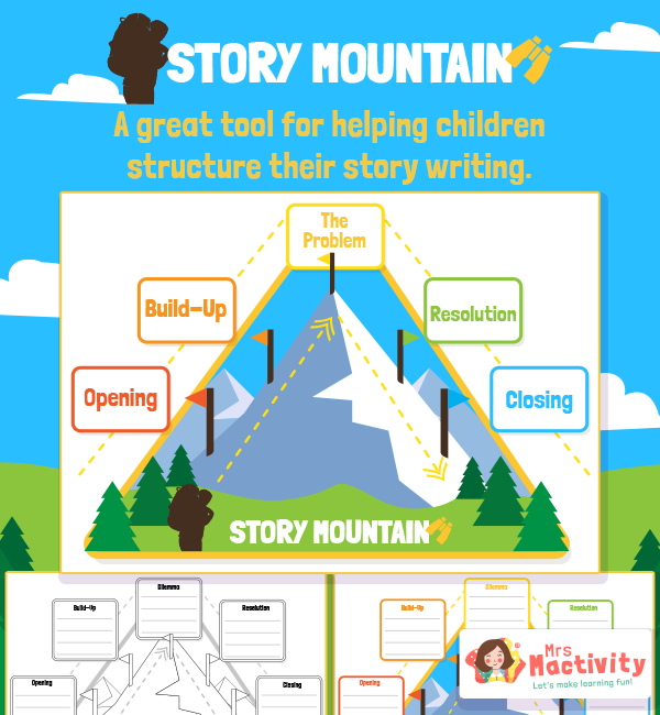 Story Mountain Writing Pack