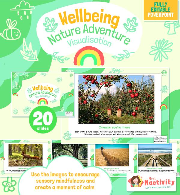 Nature Mindfulness Visualisation Presentation - Mental Health Awareness Week