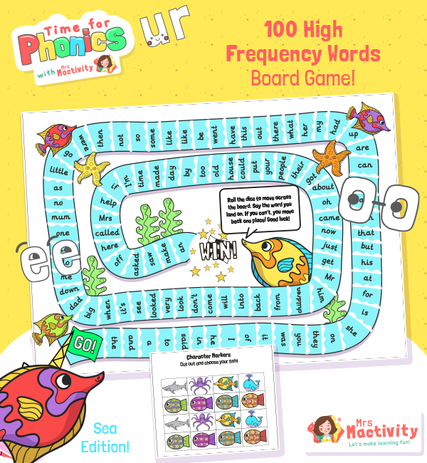 High Frequency 100 Board Game SEA COLOUR