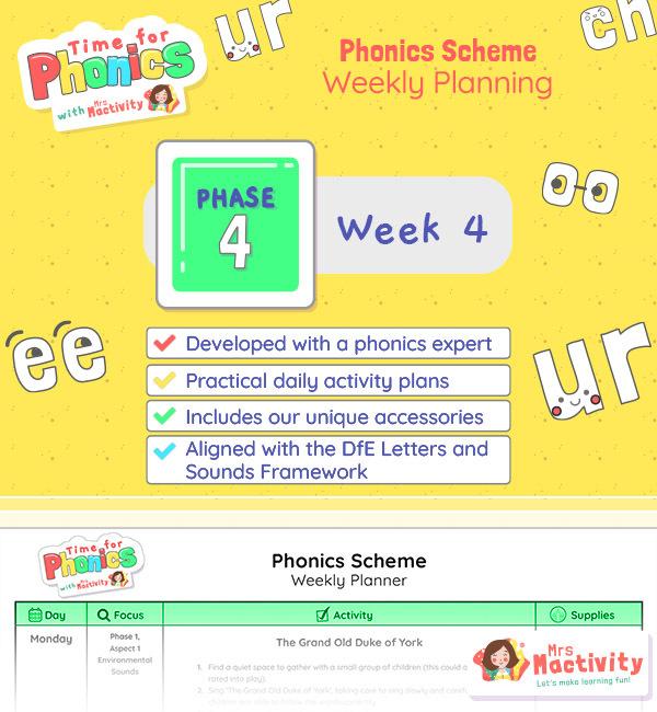 Phonics Scheme Phase 4 Week 4