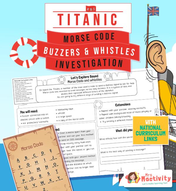 The titanic morse code investigation