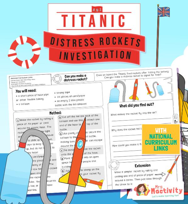 The titanic distress signal investigation