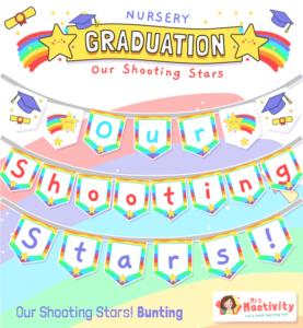 nursery graduation bunting