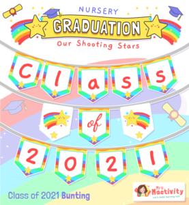 Class of 2021 Graduation Bunting