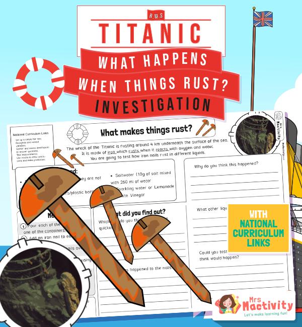 Titanic Rust Investigation