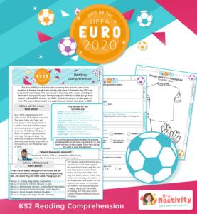 KS2 Euro 2020 Reading Comprehension