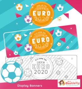 Euro 2020 Display Banners