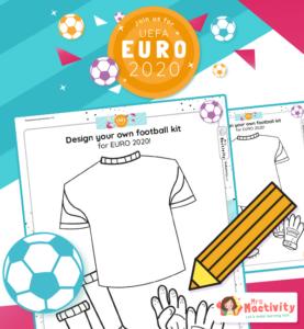 Euro 2020 design a football strip