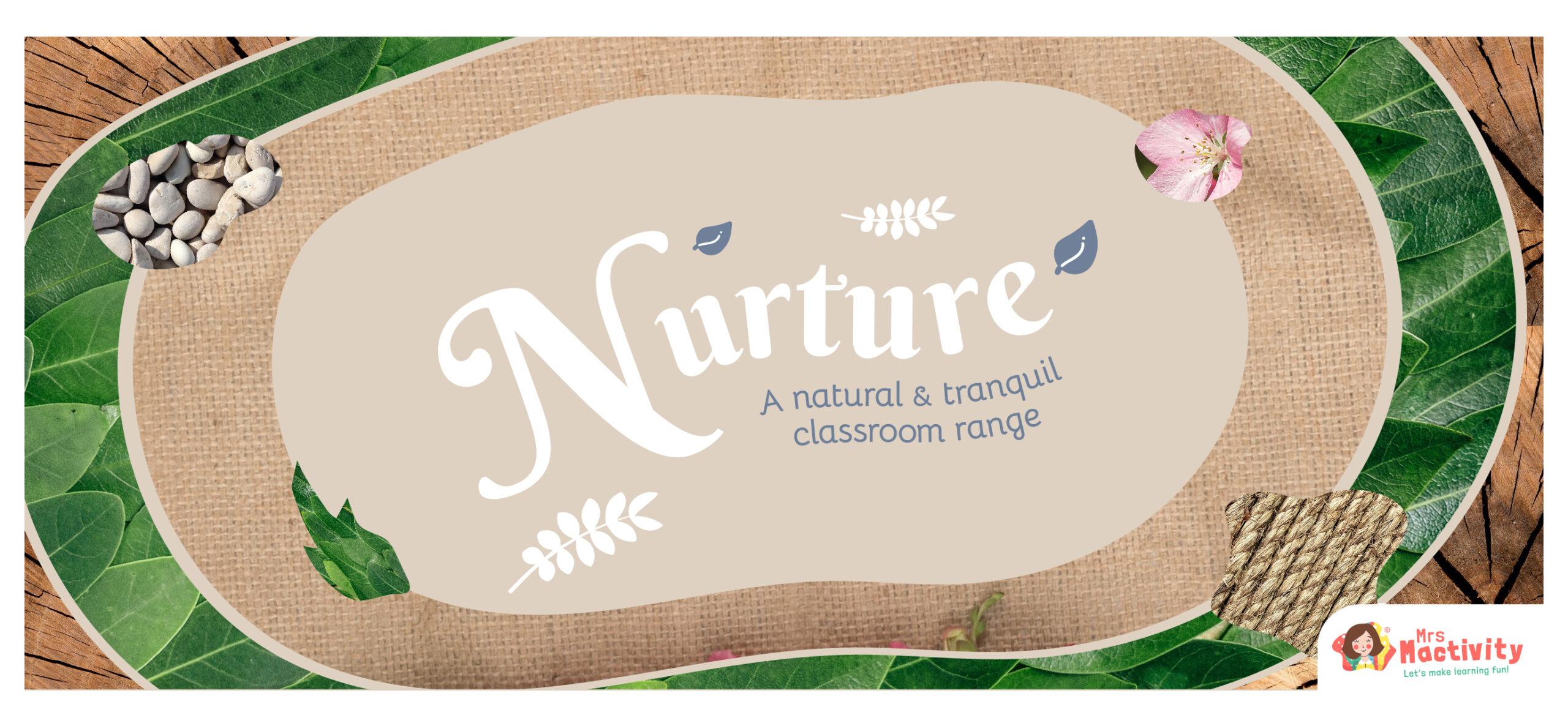 Natural classroom display resources
