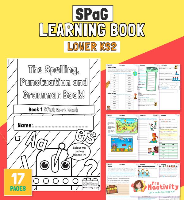 SPaG Booklet LWR KS2 COLOUR
