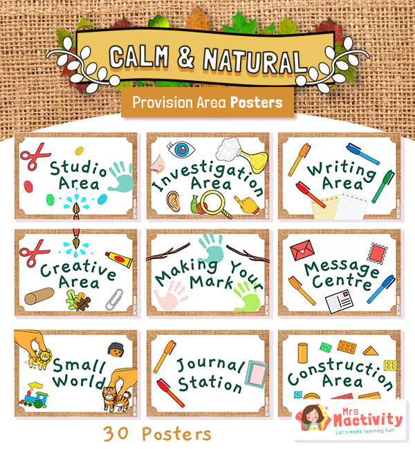 Calm Natural Provision Area Posters PICTURES