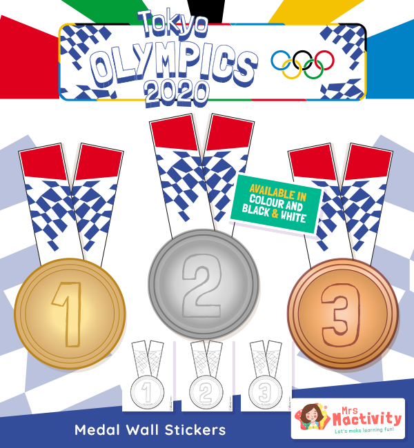 Olympics Medal Display Posters