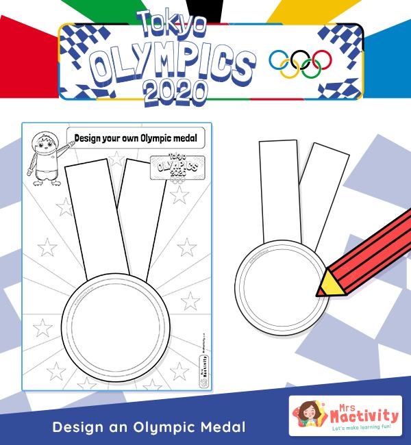 Olympics 2020 Design a medal V2