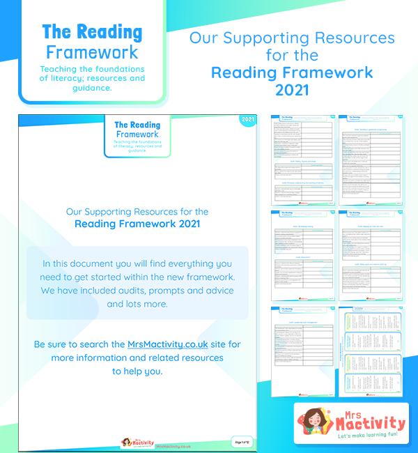 2021 reading framework resources