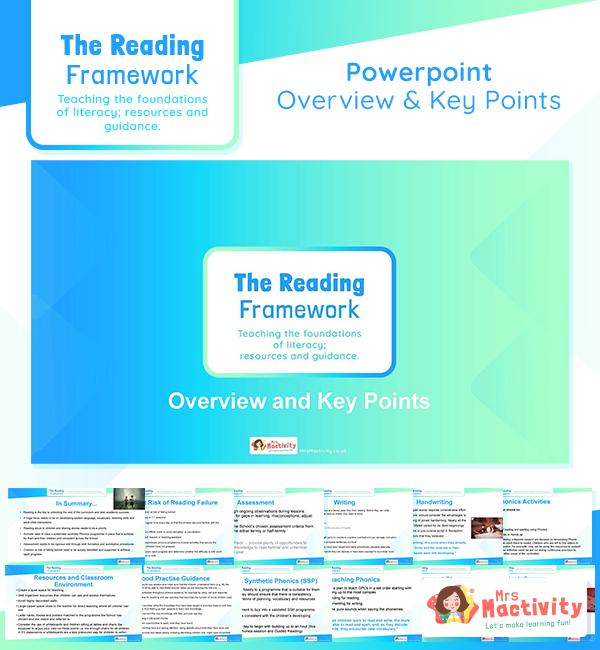 Reading framework 2021 breakdown