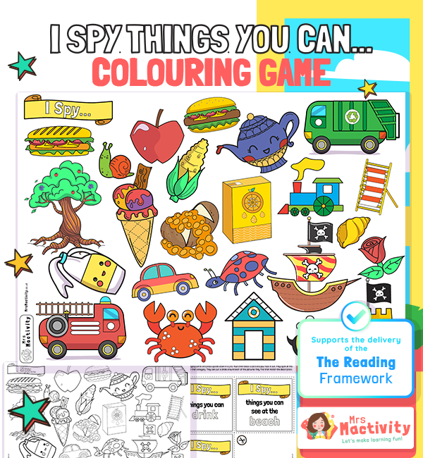 I Spy Things You Can Game