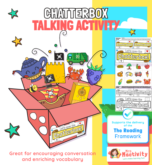 Chatterbox Activity to Support the Delivery of the 2021 Reading Framework