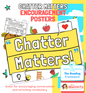 chatter matters poster