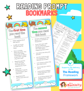Reading Prompts Bookmarks