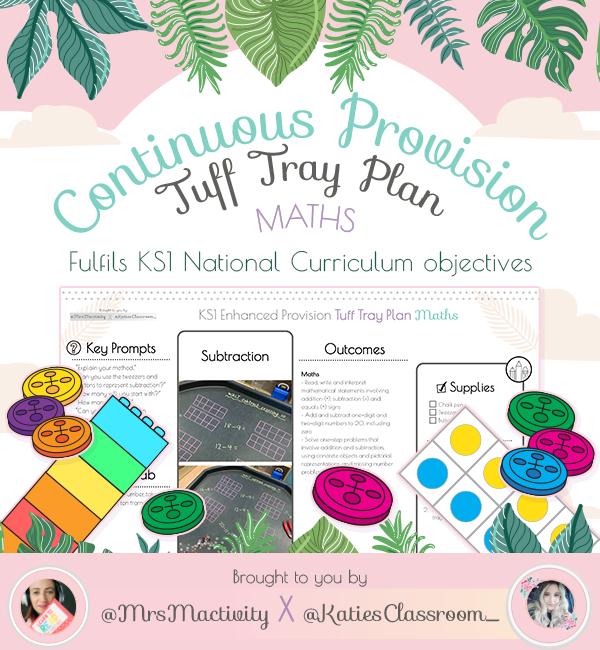 Subtraction Enhanced Provision (Tuff Tray) Maths Planning - Katie's Classroom Range