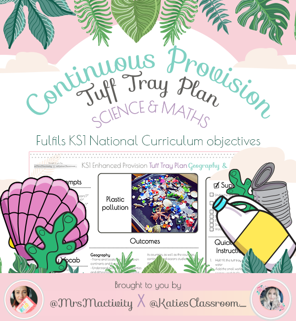Plastic Pollution Enhanced Provision (Tuff Tray) Planning - Katie's Classroom Range
