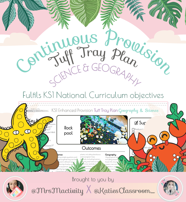 Under the sea continuous provision planning KS1